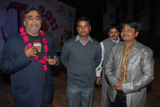 Director sir Mr. Vivek Srivastava with Honorable Guest