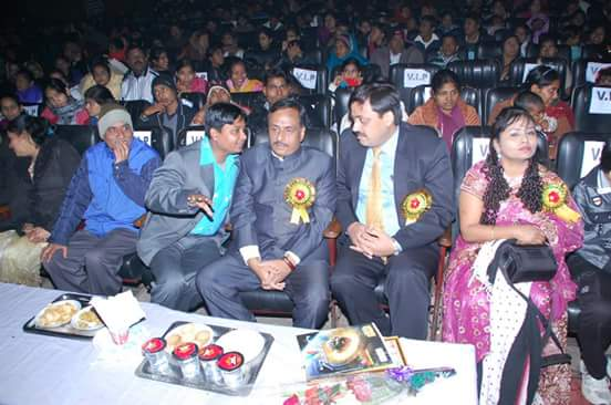 Director sir Mr. Vivek Srivastava is with Honourable Deputy C.M Mr. Dinesh Sharma